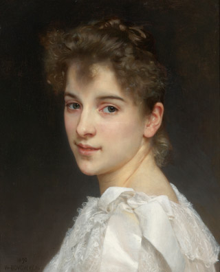 william bouguereau ritratto di gabrielle cot